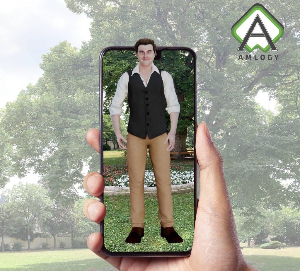 Benn, Augmented Reality 3D Tour Guide